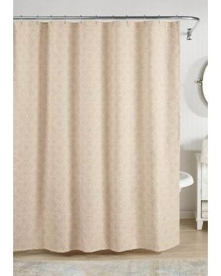 Realeza Taupe Bogart European Matalasse Shower Curtain
