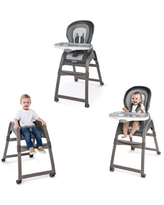 Ingenuity Boutique Collection 3-in-1 Wood High Chair - Bella Teddy