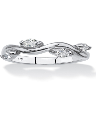 Sterling Silver Cubic Zirconia Ring (8)
