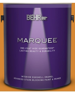 BEHR MARQUEE 1 gal. #S-H-300 Opulent Eggshell Enamel Interior Paint and Primer in One
