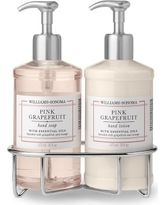 Williams Sonoma Pink Grapefruit Hand Soap & Lotion, Deluxe 5-Piece Set