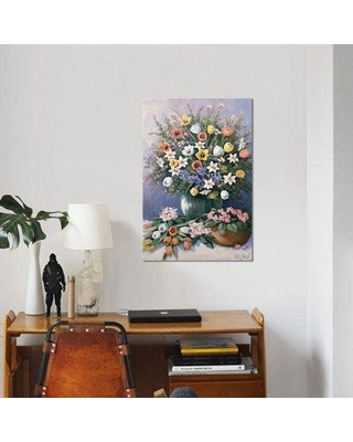 """East Urban Home 'Summer's Glory' Print on Canvas ESUI2184 Size: 18"""" H x 12"""" W x 0.75"""" D"""