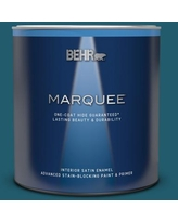 New Savings On Behr Marquee 1 Qt T16 13 Stratus Interior Satin Enamel Paint And Primer In One