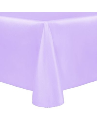Ultimate Textile Majestic 90-Inch x 156-Inch Oblong Tablecloth in Lilac