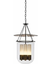 "Hubbardton Forge Piccadilly 14 3/4""W Bronze Pendant Light"