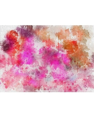 Background Pink Area Rug East Urban Home Rug Size: Rectangle 2' x 4'