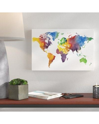 Surprise 65 off wrought studio gillham colorful world map wrought studio gillham colorful world map graphic art print on canvas bi076793 size gumiabroncs Gallery