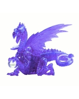 Deluxe 3D Crystal Puzzle - Purple Dragon