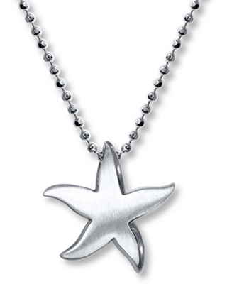 Alex Woo Starfish Necklace Sterling Silver