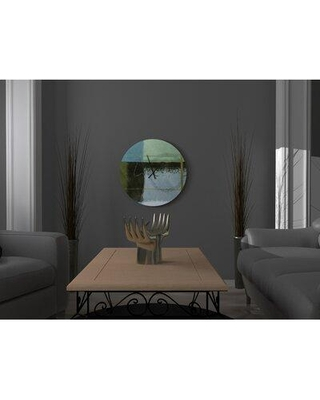 Amazing Deal On Latitude Run Gutsy Practicable Abstract Metal Wall Clock X111594435 Size Large