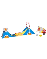 Ricky Zoom Speed & Stunt Playset featuring with 2 Rescue Accessories Free Wheeling Free Standing Toy Bike