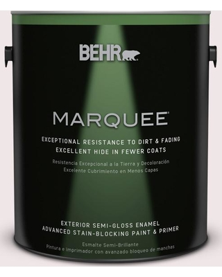 BEHR MARQUEE 1 gal. #690E-1 Shell Brook Semi-Gloss Enamel Exterior Paint and Primer in One