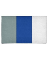 Here S A Great Deal On Dallas Football Stripes Poly Blue Area Rug East Urban Home Rug Size Round 5