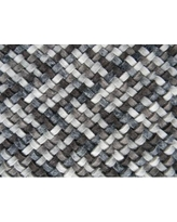 Modern Rugs Scales Multi Gray Area Rug nvk_scale-I Rug Size: Square 8'