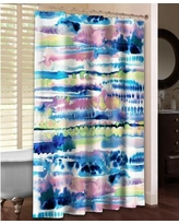LauralHome Silky Designs Shower Curtain SID74SC