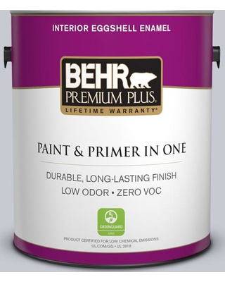 BEHR Premium Plus 1 gal. #MQ5-18 Paparazzi Flash Eggshell Enamel Low Odor Interior Paint and Primer in One