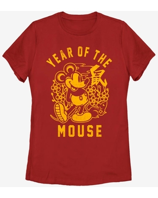 Disney Mickey Mouse Year Of The Mouse Womens T-Shirt