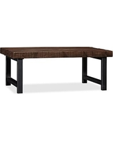 Griffin Wrought Iron & Reclaimed Wood Coffee Table