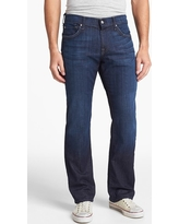Men's 7 For All Mankind Austyn Relaxed Straight Leg Jeans, Size 42 x 34 - Blue