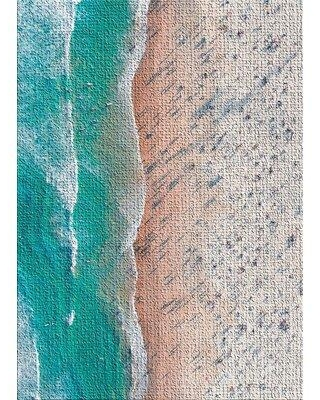 East Urban Home Portrait Style Photography 13 Turquoise Area Rug X112250905 Rug Size: Rectangle 3' x 5'