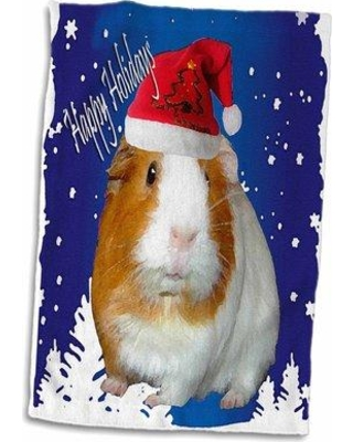New Deals On Symple Stuff Guinea Pig Christmas Towel Terry In Red Blue Size 22 W X 15 D Wayfair 4e1a29d28efd4c09bb9d4447f8a9b309