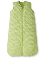 Moon and Back by Hanna Andersson Baby Organic Cotton Wearable Blanket, Lime Green, 3-6 months