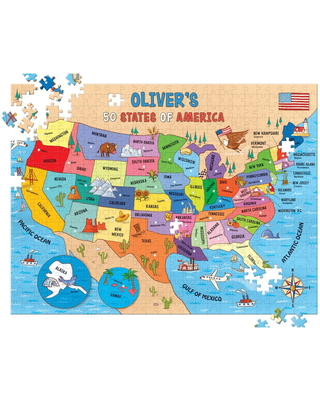 I See Me! 50 States 500-Piece Personalized Puzzle