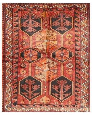 Shop Deals For Bloomsbury Market Bowenfels Traditional Red Black Light Yellow Area Rug Wool Polyester In Red Black Yellow Size Round 3 Wayfair