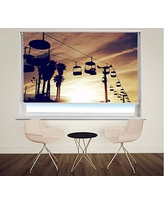 Custom Made Window Blind//Shade Iceland Waterfall Sunset Printed Picture Photo Roller Blind Blackout /& Standard Fabric Printed Photo Blind