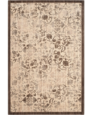 Yellow/Brown Solid Loomed Area Rug - (9'X12') - Safavieh, Adult Unisex, Size: 9'X12', Yellow Brown