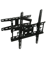 "Mount-It! TV Corner Full Motion Wall Mount for 20"" 24"" 28"" 32"" 39"" 40"" 43"" 49"" 50"" 55"" UHD/FHD Flat Screen TVs"