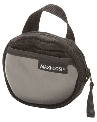 Maxi-Cosi Convenient Zippered Baby Pacifier Cosi Keeper, Black