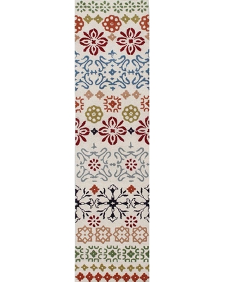 Safavieh Wyndham Ivory/Multi 2 ft. x 7 ft. Runner Rug