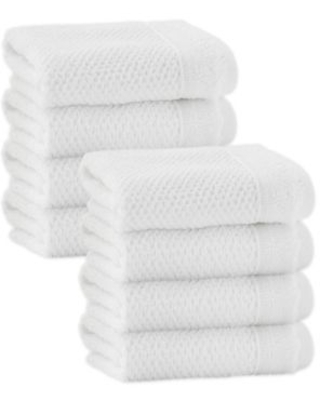 Enchante Home® Veta Washcloths in White (Set of 8)