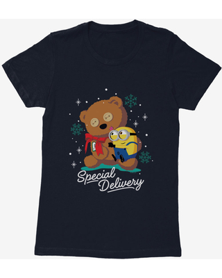Minions Special Delivery Womens T-Shirt