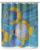 Rosecliff Heights Winterport Fish School Shower Curtain ROHE4501