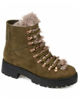 Journee Collection Women's Regular Trail Boot - Olive