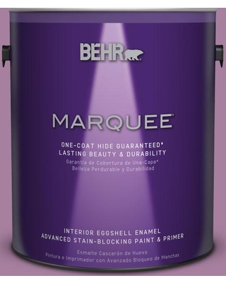 BEHR MARQUEE 1 gal. #M110-5 Amazonian Orchid One-Coat Hide Eggshell Enamel Interior Paint and Primer in One
