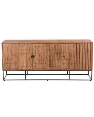 Atelier Collection BZ-1110-24 Sideboard with Iron Legs in Natural