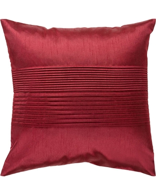 Artistic Weavers Virgili Poly Euro Pillow, Red