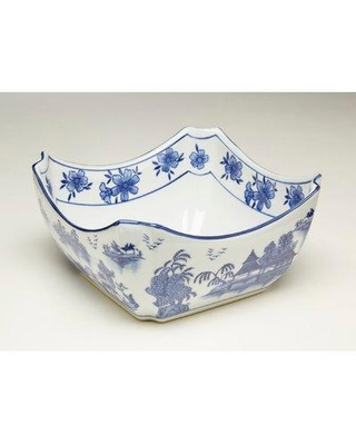Bloomsbury Market Oxendine Pagoda Square Decorative Bowl BI021795