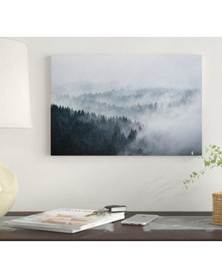 """East Urban Home 'The Waves' By Tordis Kayma Graphic Art Print on Canvas EUME2535 Size: 26"""" H x 40"""" W x 1.5"""" D"""