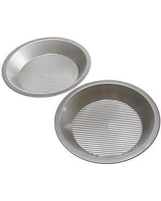 USA Pan Bakeware Aluminized Steel Set of 2, Made in the USA