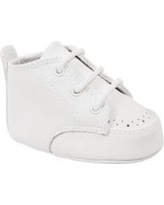 Crown & Ivy™ White Baby Boys White High Top Shoes