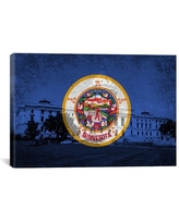 Great Prices For Flags Nebraska Capitol Building Graphic Art On Canvas Winston Porter Size 18 H X 18 W X 1 5 D