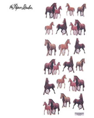 Horse 3D Stickers