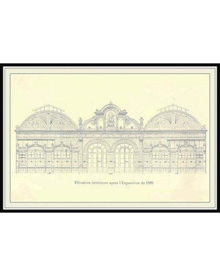 Astoria Grand 'Elevation' Framed Print on Canvas W000755886