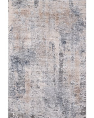 """Momeni Dalston Abstract Transitional Area Rugs, Beige,5'3"""" X 7'6"""""""