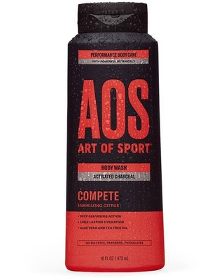 Art of Sport Compete Activated Charcoal Body Wash - 16 fl oz