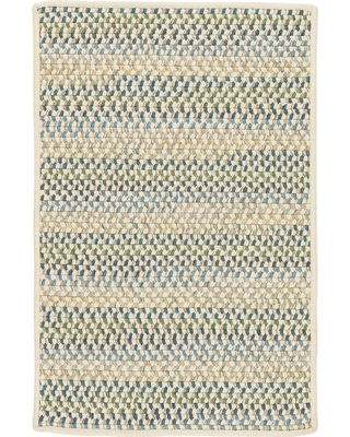 Home Decorators Collection Parkside Peacock Mix 2 ft. x 6 ft. Braided Runner Rug